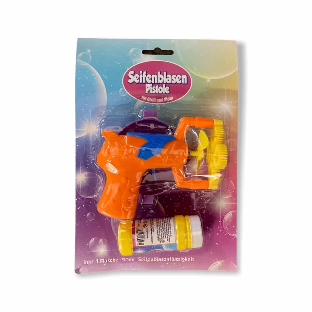 Seifenblasenpistole inkl. Flüssigkeit