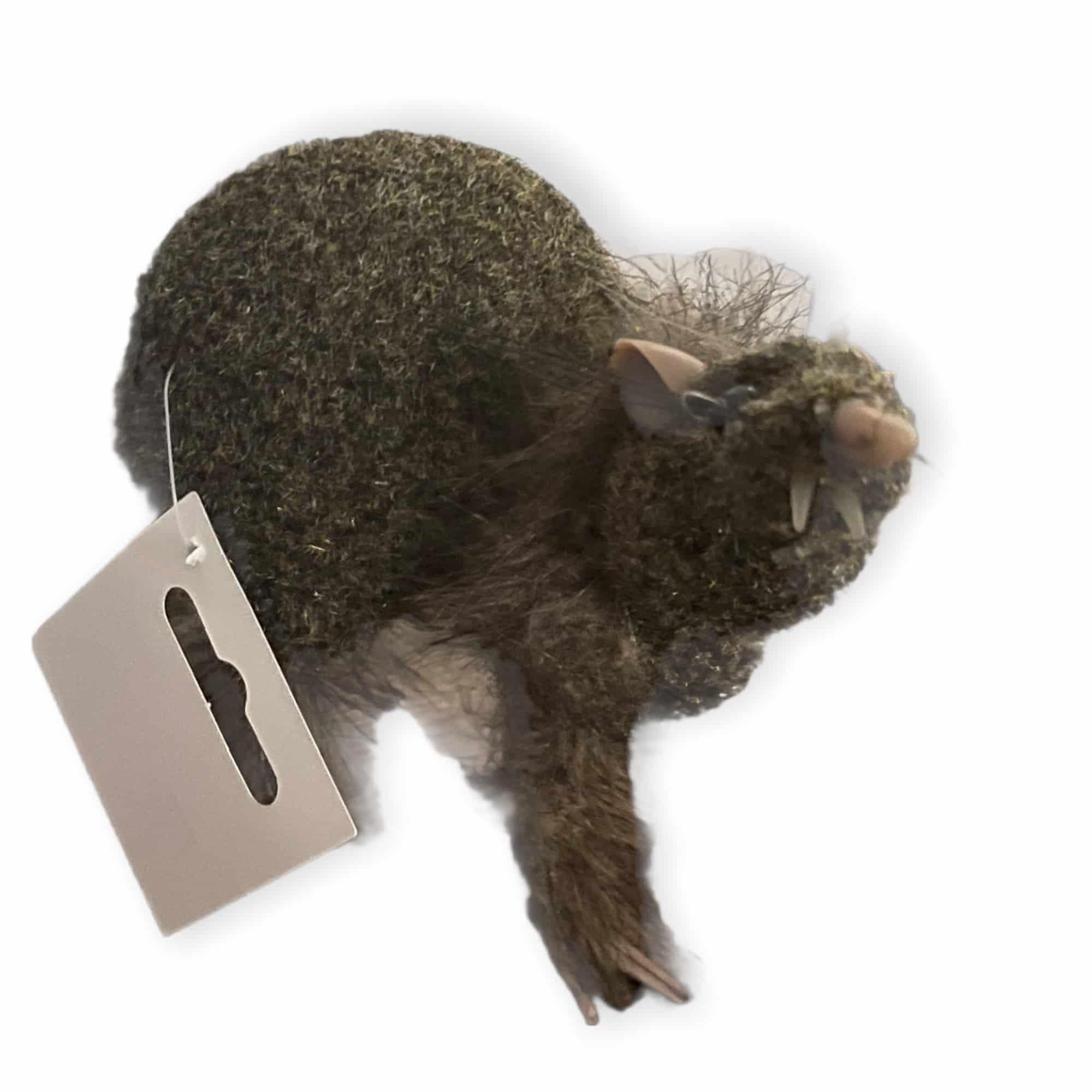 Fellige Rattenfigur
