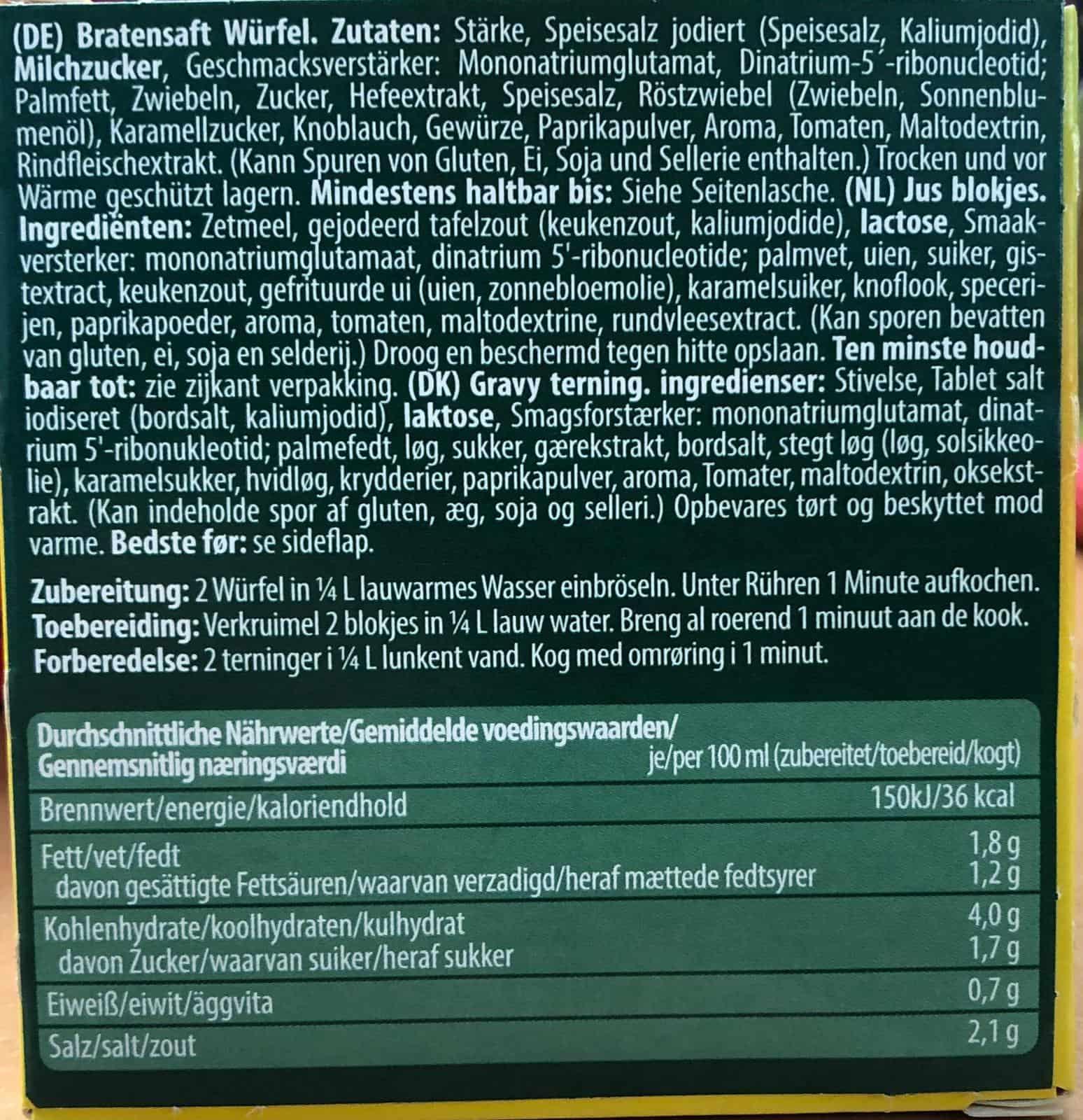 6er Packung Cassian Bratensaft 69g