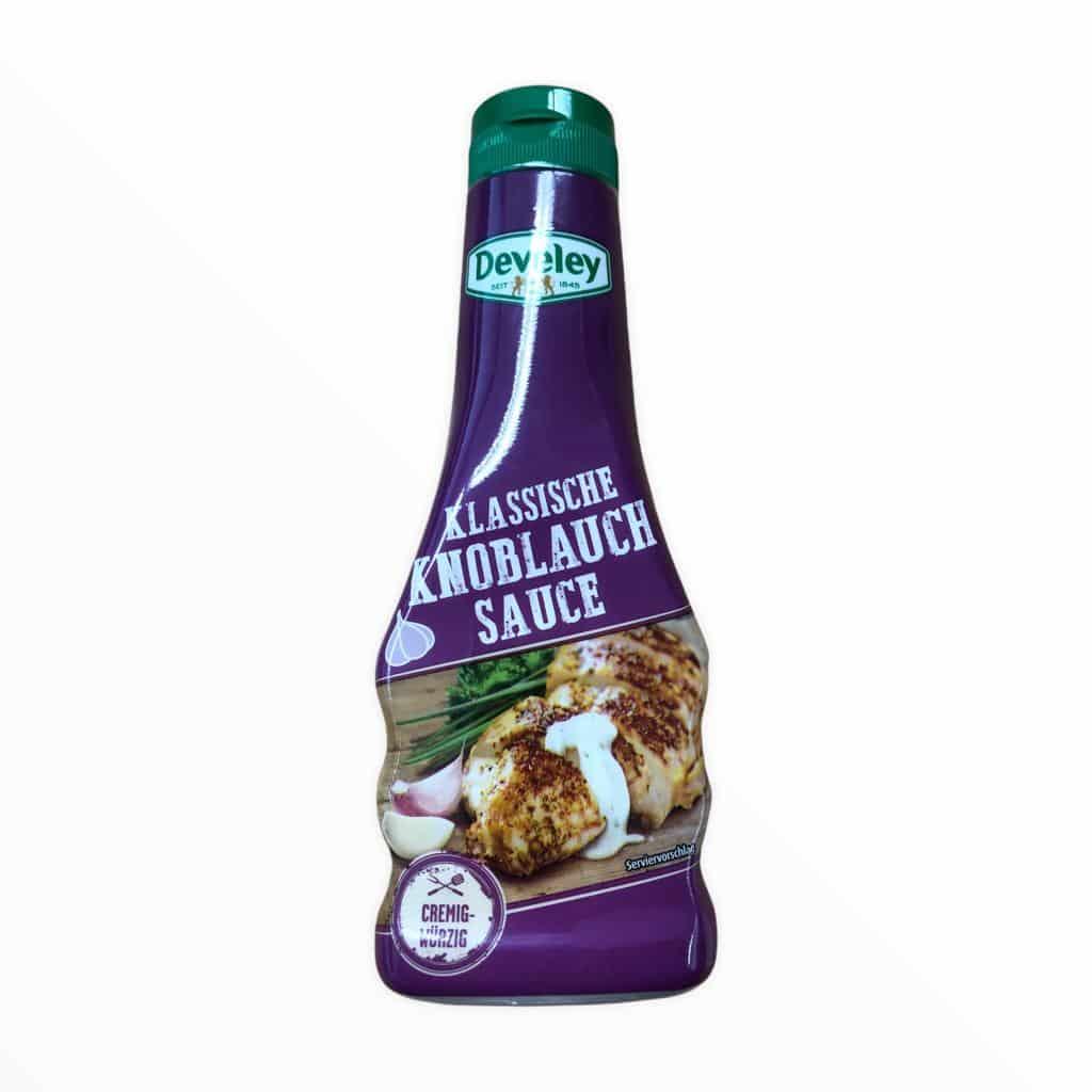 Develey Klassische Knoblauch Sauce cremig-würzig 250ml