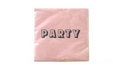 """20er-Pack Servietten """"Party"""""""