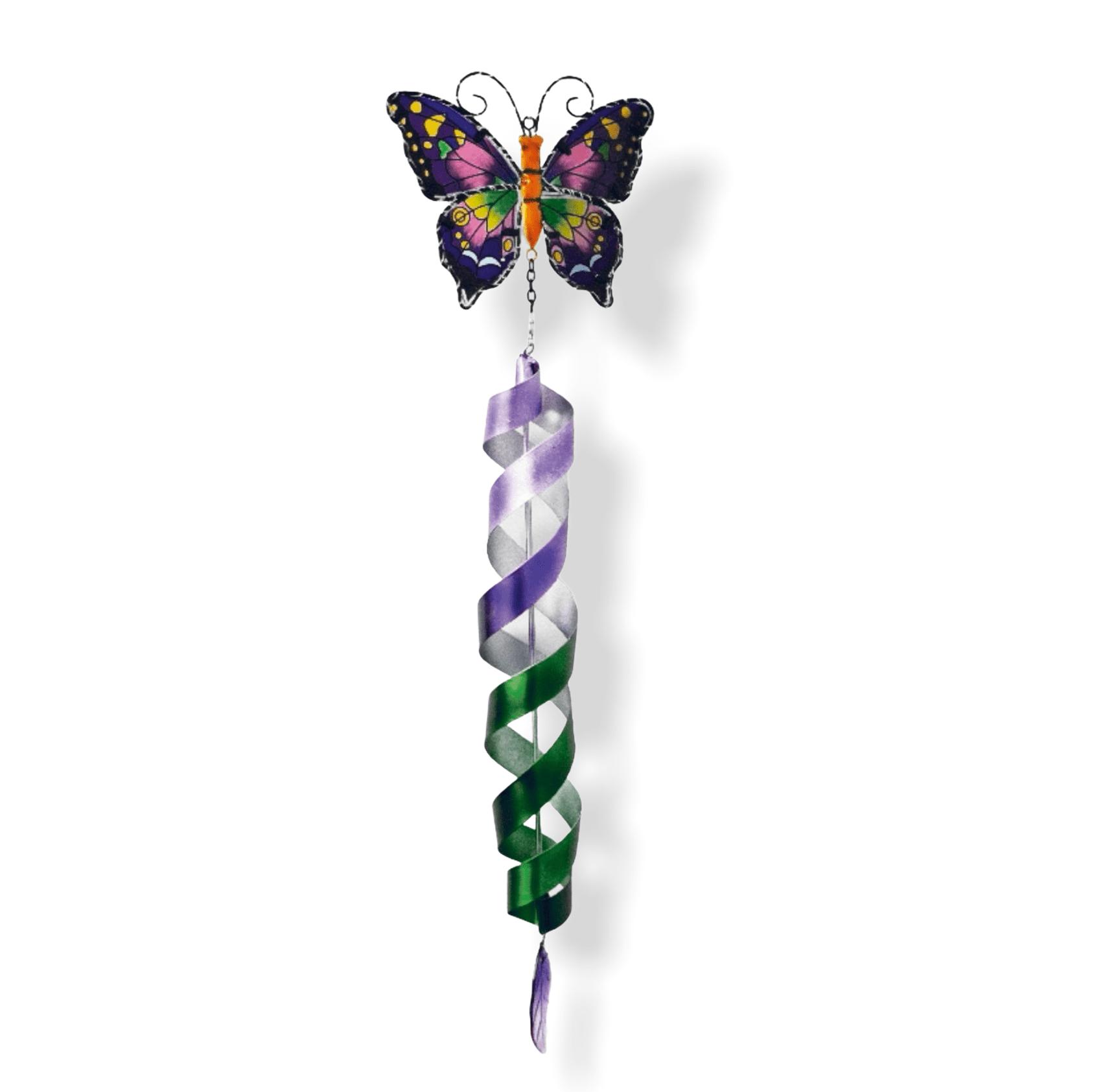 LED-Windspiel Schmetterling