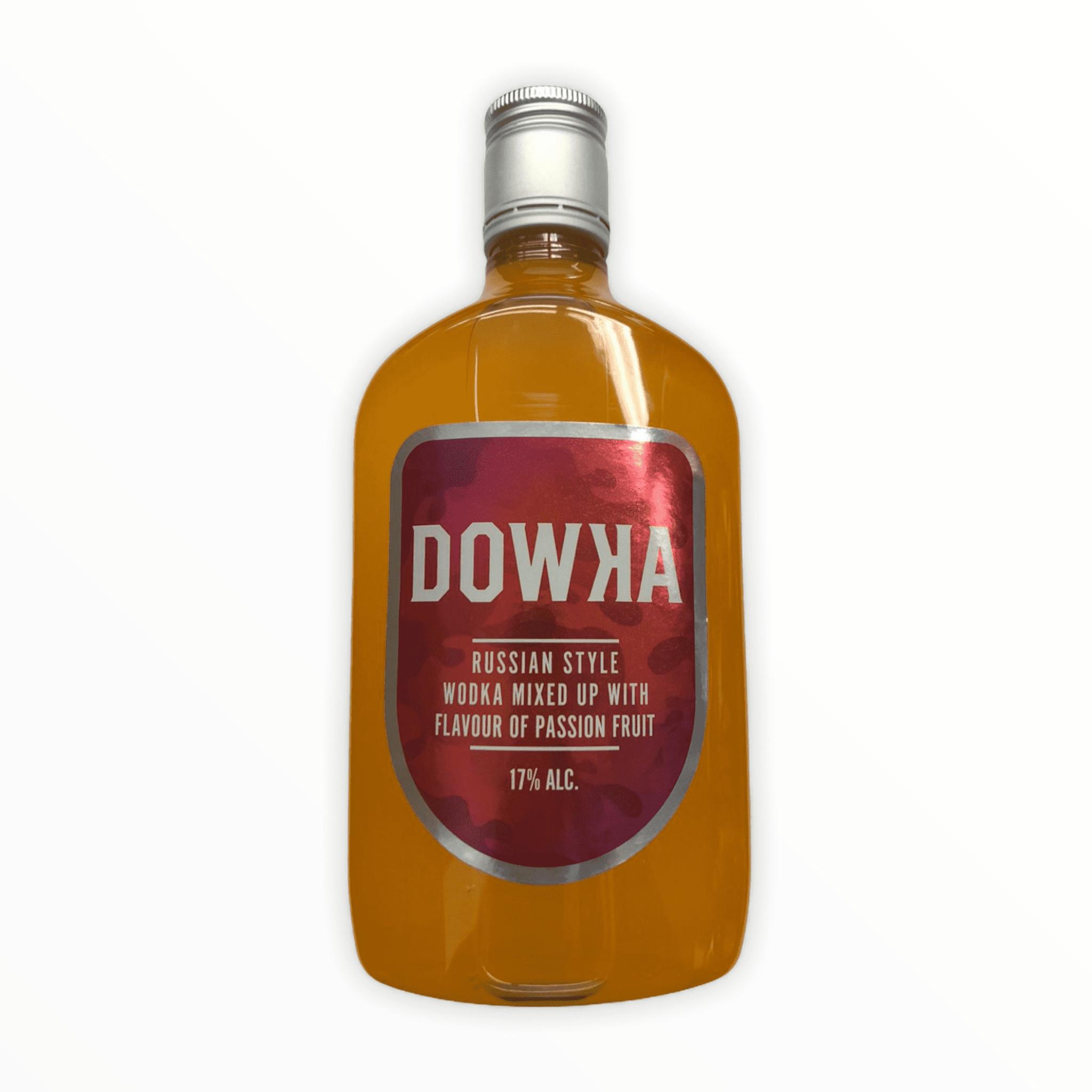 Dowka Likör mit Passionsfrucht-Geschmack 17% Vol. 0,5l