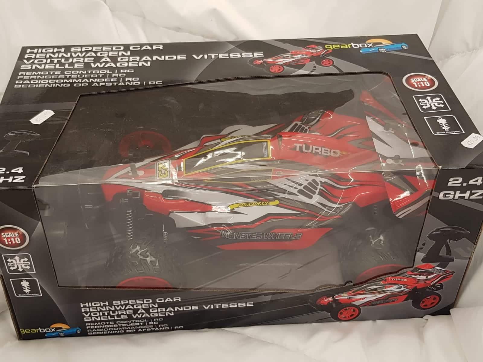 Gearbox RC Rennwagen