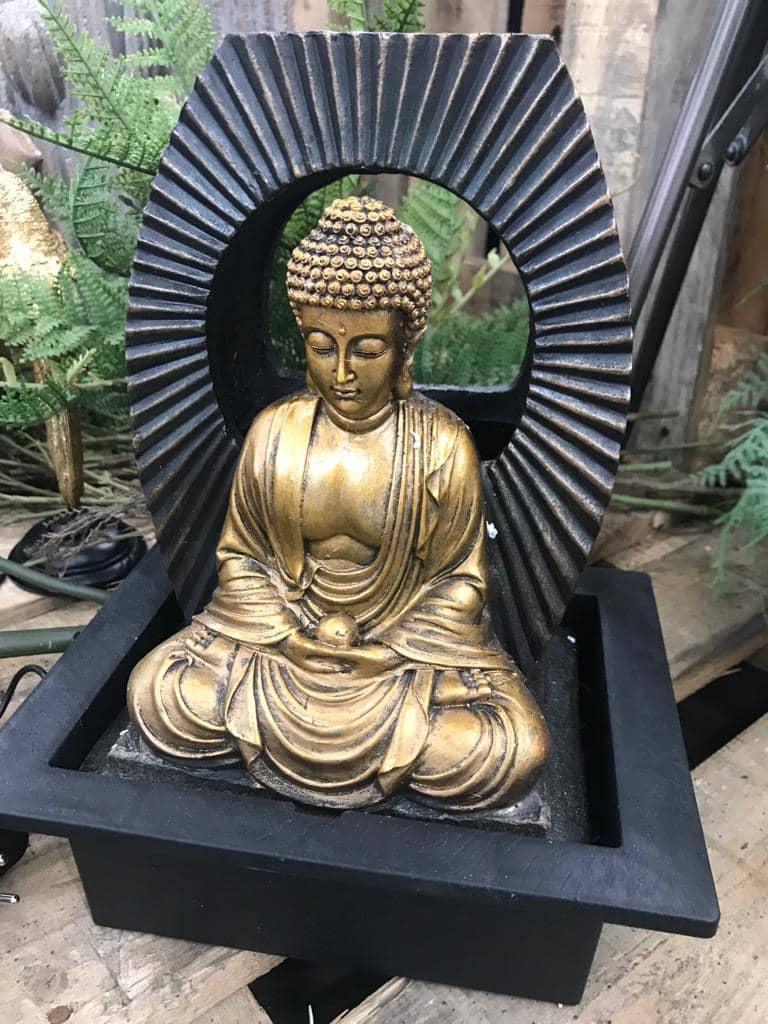 """LED-Zimmerbrunnen """"Buddha"""""""