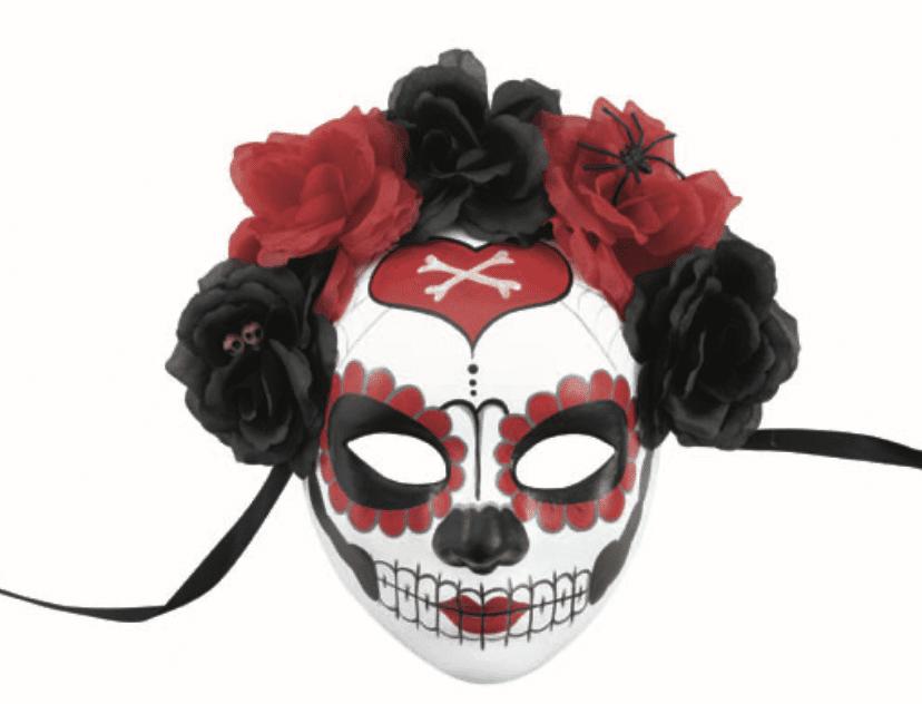 """Maske """"Día de los Muertos"""""""