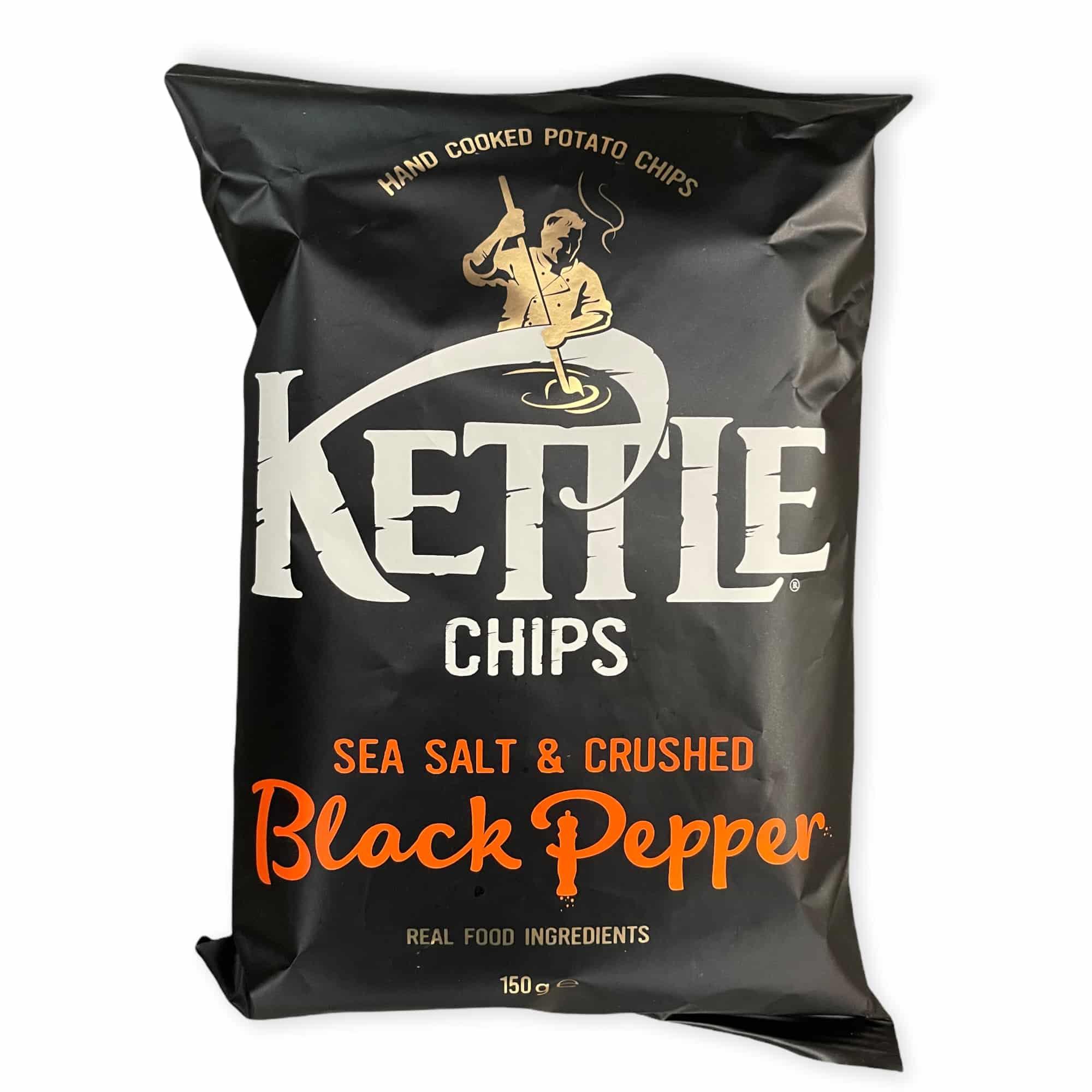 Kettle Chips Meersalz & schwarzer Pfeffer 150 g