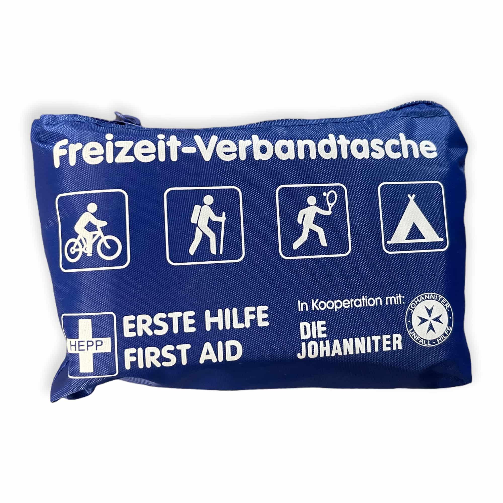 Freizeit-Verbandtasche - blau