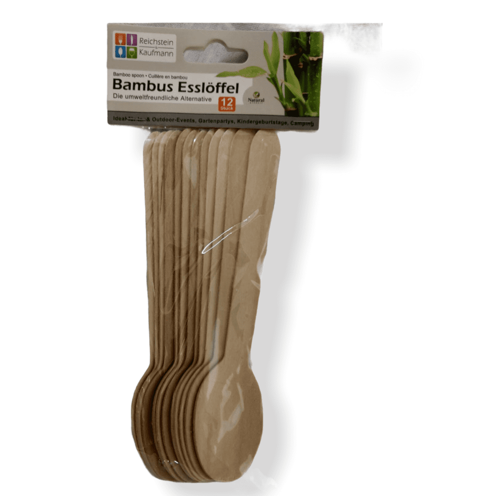 Esslöffel aus Bambus