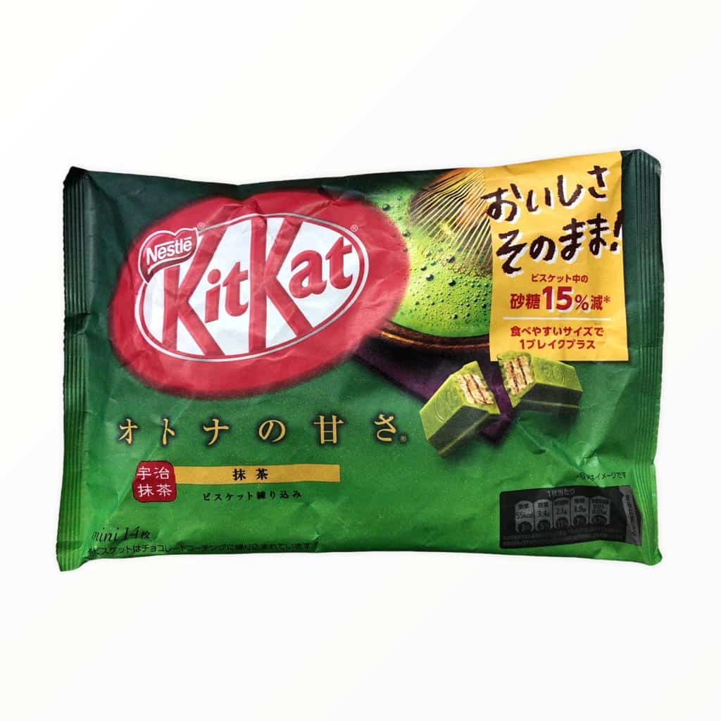 14er Packung KitKat Green Tea Matcha Mini 126,1g