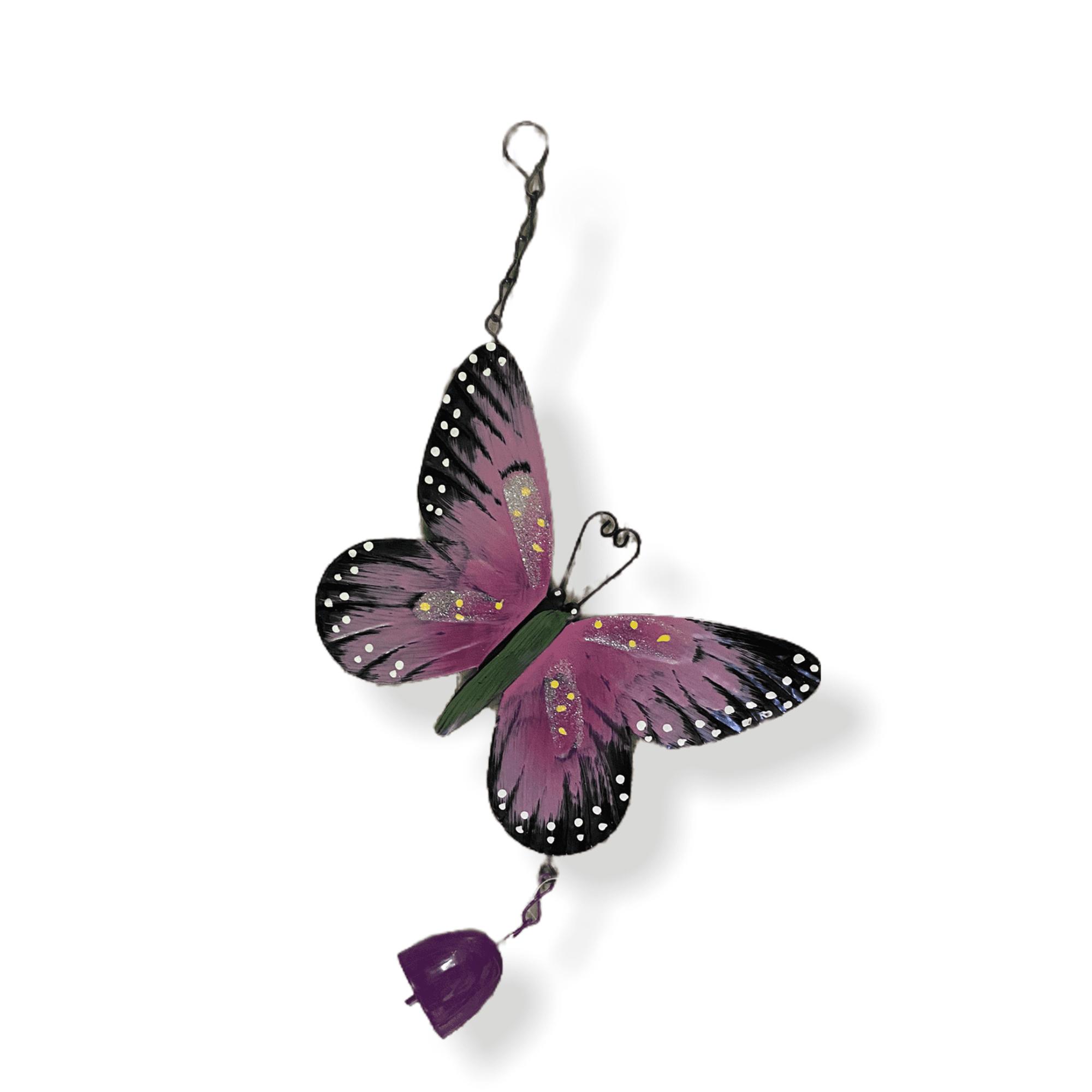 Gartenhänger Schmetterling  lila