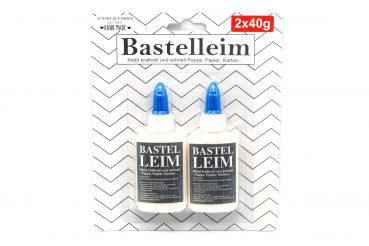 Bastelleim 2 x 40 g