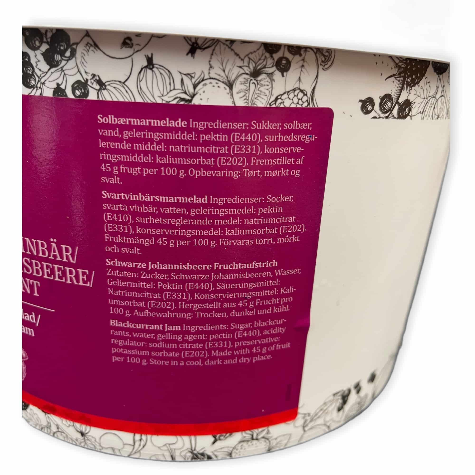 Schwarze Johannisbeere Marmelade 5.2 kg