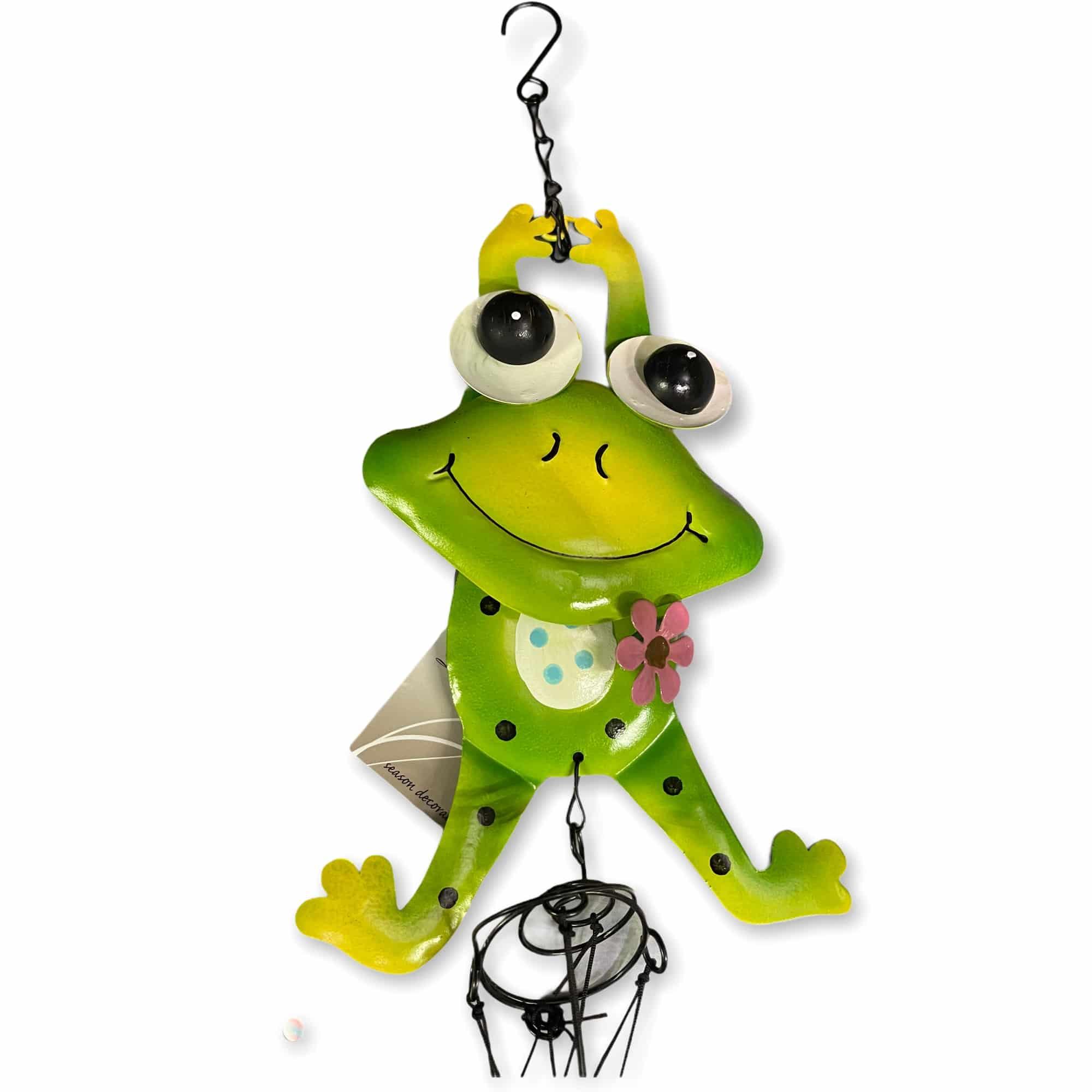 """Windspiel """"Frosch springend"""""""