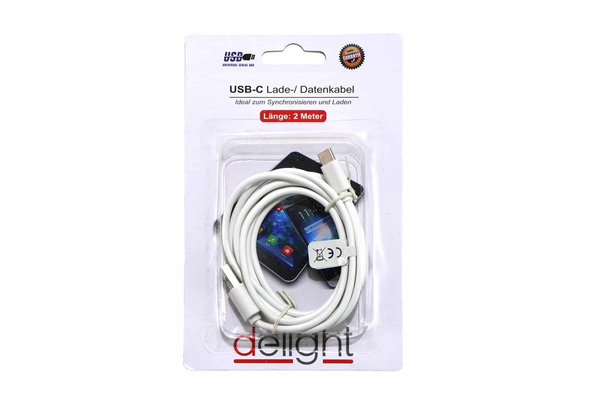 "Lade-/Datenkabel ""USB-C"" 2 m"