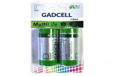 2er-Pack Batterien R20P/D