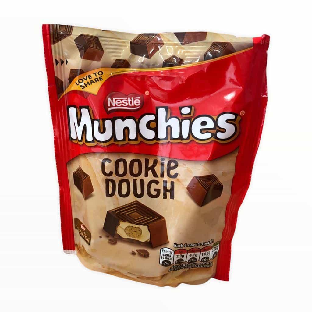 Nestle Munchies Cookie Dough 101g